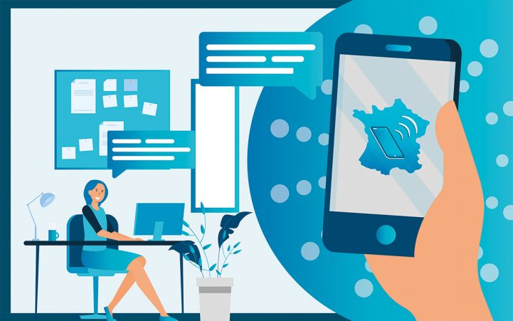 Design opérateur mobile France Téléphone
