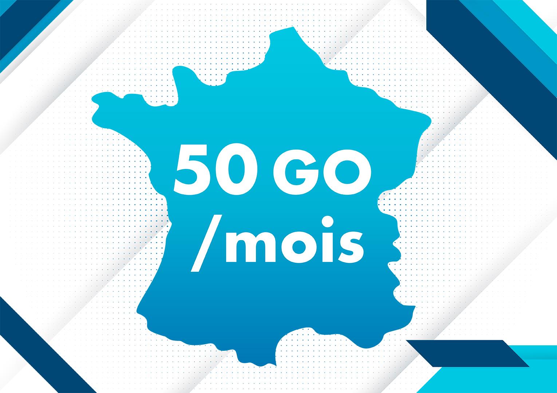 Forfait 50 Go